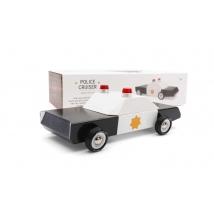 Candylab Candycar ξύλινο αυτοκινητάκι - Police car CL008560