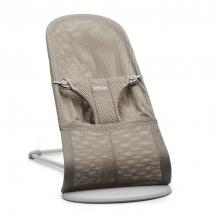 BabyBjörn ριλάξ Balance Soft, Light grey frame - Beige Mesh 006102