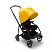 Bugaboo Bee 6 παιδικό καρότσι - Black/Black/Yellow