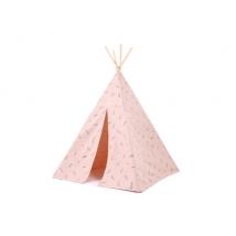 Nobodinoz Phoenix teepee - Blue secrets/misty pink NB104171