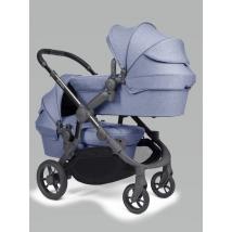 iCandy Orange παιδικό καρότσι διδύμων - Mist Blue