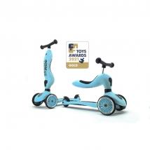 Scoot & Ride Highwaykick 1 παιδικό όχημα 3 σε 1 - Blueberry