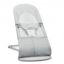 BabyBjörn ριλάξ Balance Soft, Light grey frame - Silver/White Mesh 005129