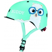Globber  κράνος Elite lights - Sky blue buddy (507-105)