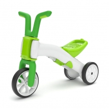 Chillafish Bunzi ποδήλατο εκμάθησης ισορροπίας - Lime
