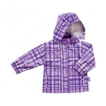 Playshoes αδιάβροχο καρό 408651 - Purple