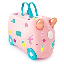 Trunki  παιδική βαλίτσα ταξιδιού - Flossy the Flamingo 0353 (New)