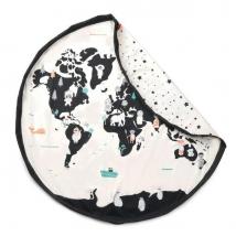 Play & Go στρώμα παιχνιδιού και τσάντα 2 σε 1 - Worldmap PG300216