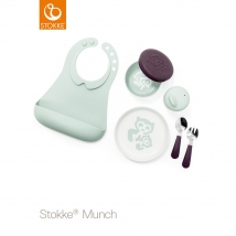 Stokke® Munch σετ φαγητού Complete - Soft mint