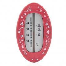 Reer θερμόμετρο μπάνιου οβάλ - 24114 red