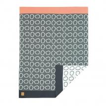Lassig πλεκτή κουβέρτα - Pebbles light grey 1542001216