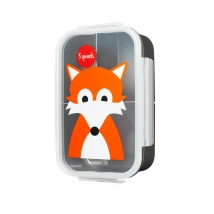 3 sprouts τάπερ Lunch Bento Box - Fox