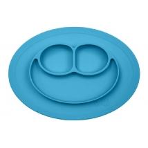 Ezpz εκπαιδευτικό πιάτο Happy Mini Mat - Blue