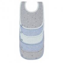 Lassig σαλιάρες σετ 5 τμχ - Blue Bash 1311002415
