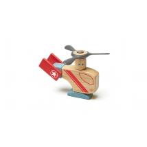 Tegu Stunt Team ξύλινα μαγνητικά τουβλάκια - Looper