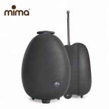 Mima Ovi τροχήλατο βαλιτσάκι - Black