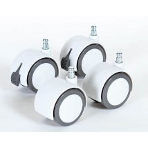 babybay® σετ ροδάκια - Parkett White 100402