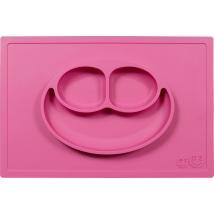 Ezpz εκπαιδευτικό πιάτο Happy Mat - Pink