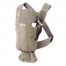 BabyBjörn Mini μάρσιπος 3D Mesh - Grey Beige 021002