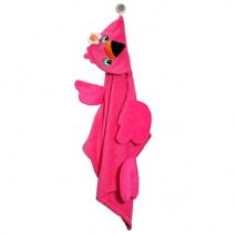 Zoocchini παιδική μπουρνουζοπετσέτα - Flamingo