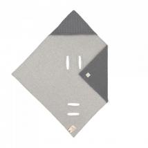 Lassig πλεκτή κουβέρτα για τη βόλτα - Anthracite 1542014236