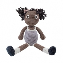 Sebra crochet κούκλα μεγάλη - Poppy 300220008