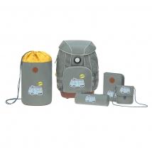 Lassig σχολική τσάντα, σετ 5 τεμ. - 1205001462 Bus