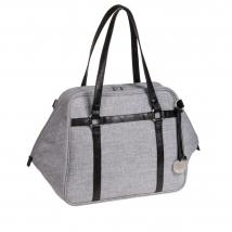 Lassig Urban τσάντα αλλαγής Green Label - Black Melange