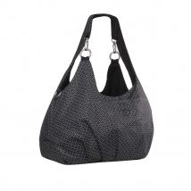 Lassig Shoulder bag τσάντα αλλαγής Gold label - Black