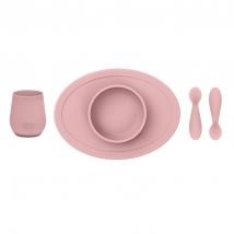 Ezpz εκπαιδευτικό σετ φαγητού - Blush