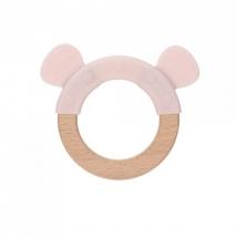 Lassig μασητικό δαχτυλίδι από σιλικόνη - Little Chums Mouse 1313007725
