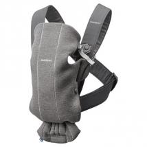 BabyBjörn Mini μάρσιπος 3D Jersey - Dark Grey, 021084