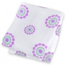 Lulujo bamboo πανί πολλαπλών χρήσεων - Lavender