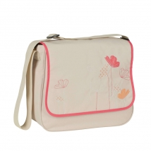 Lassig Basic Messenger τσάντα αλλαγής - poppy sand LBMB165109