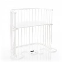 babybay® λίκνο BoxSpring - 166102 White varnished