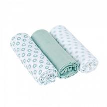 Lassig κουβερτάκι-πανί, πολλών χρήσεων L - Little Chums Stars light mint