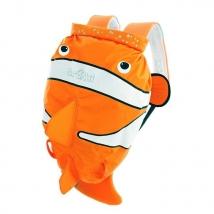 Trunki PADDLEPAK αδιάβροχο παιδικό  σακίδιο - Clown fish
