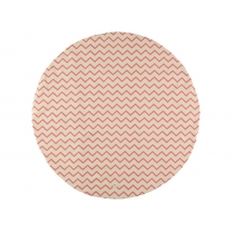 Nobodinoz μικρό χαλάκι παιχνιδιού Apache - ZigZag pink NB63393
