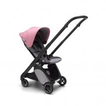 Bugaboo Ant παιδικό καρότσι - Black-grey melange-pink melange