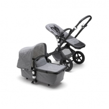 Bugaboo Cameleon3 plus Complete παιδικό καρότσι - Alu/Grey-grey melange