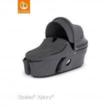 Stokke Xplory V6 πορτ μπεμπέ - Black Melange