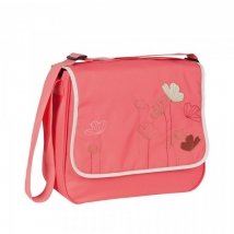 Lassig Basic Messenger τσάντα αλλαγής - poppy dubarry LBMB145109