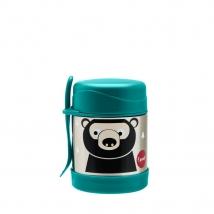 3 Sprouts ανοξείδωτο βάζο φαγητού - Bear