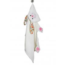 Zoocchini παιδική μπουρνουζοπετσέτα - Bunny
