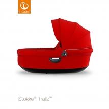 Stokke® Stroller Black πορτ μπεμπέ - Red