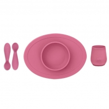 Ezpz εκπαιδευτικό σετ φαγητού - Pink