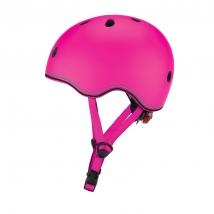 Globber Go Up κράνος LED - Pink 505-110 48-53εκ
