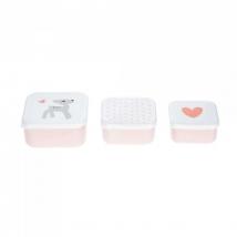 Lassig snackbox set - Lela Light pink 1310013784