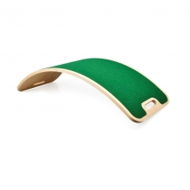 Curvelab σανίδα ισορροπίας με τσόχα - Green
