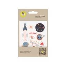 Lassig αυτοκόλητα για την τσάντα - 1206017041 Space